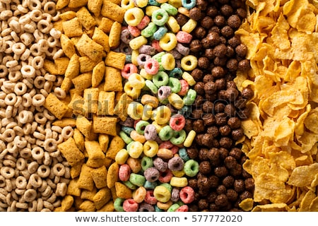 Cereales semillas saludable sabroso harina Foto stock © M-studio