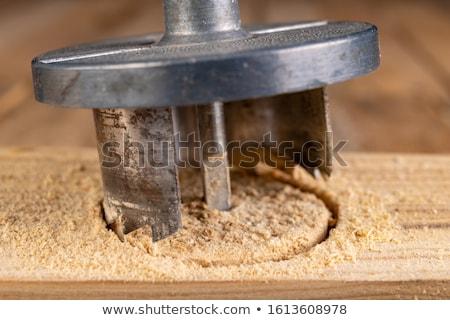 Artesão conselho homem construção casa Foto stock © photography33