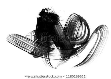 abstract · verf · bubbels · papier · ontwerp · kunst - stockfoto © melking