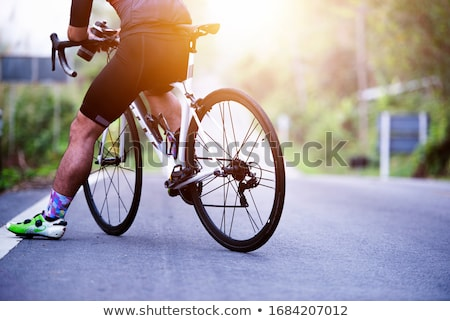 Stock photo: Mountain bicycle bike