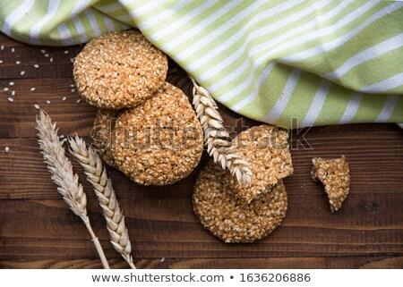 diétás · sütik · szénhidrátok · diéta · étel · kenyér - stock fotó © oksix