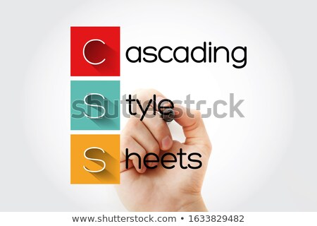 Stock photo: Cascading Style Sheets