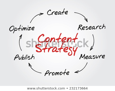 SEO Process Circle stock photo © liliwhite