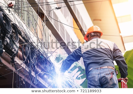 electrician electrocuted Stock photo © photography33
