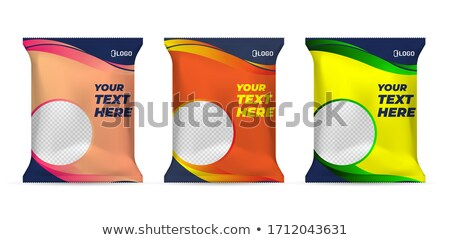 sliced fat packaged Stock photo © shutswis