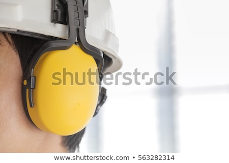 Worker holding hearing protection Stock photo © photography33