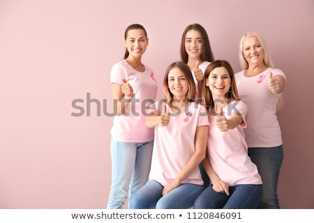 woman cancer sign for coloring Stock photo © izakowski