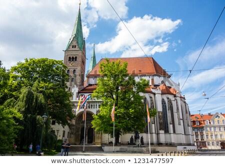 cross · cattedrale · Germania · cielo · montagna - foto d'archivio © franky242