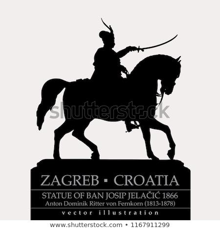 famous statue in croatia stock photo © gbuglok