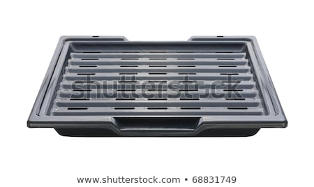 Broiling Pan isolated with a clipping path Stock photo © danny_smythe