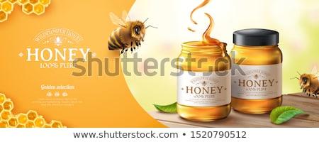 Honey with pollen Stock photo © Masha