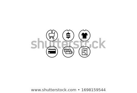 üzletasszony · bőrönd · fiatal · izolált · fehér · nő - stock fotó © forgiss