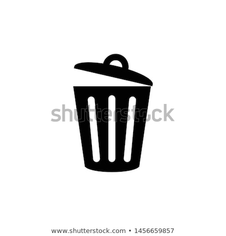 служба мусорное ведро изолированный белый кухне мусор Сток-фото © shutswis