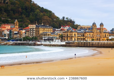 View of street in San Sebastian in Spain. Europe. Stock photo © kyolshin