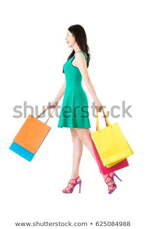 красивой · женщины · ног · цвета · коллаж - Сток-фото © dacasdo
