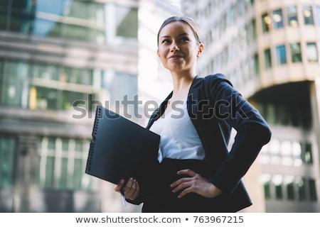 成功した 女性実業家 スタイリッシュ 小さな 着用 明るい ストックフォト © stockyimages