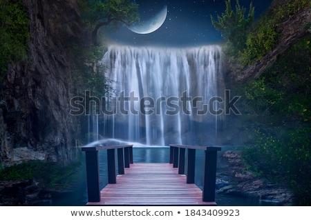 Pretty Little Tropical Waterfall Stock photo © ArenaCreative