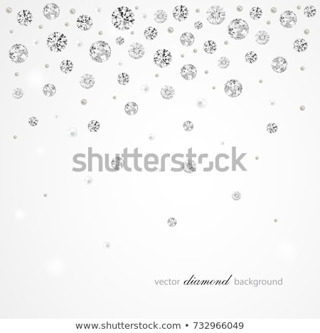 vector · diamantes · suave · blanco · fondo · boda - foto stock © CarpathianPrince