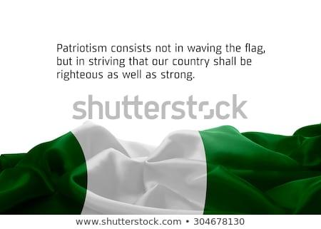 Kolory Nigeria zestaw inny symbolika projektu Zdjęcia stock © perysty