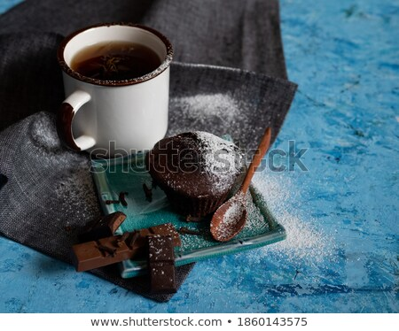 chocolade · top · zoete · dessert - stockfoto © zhekos