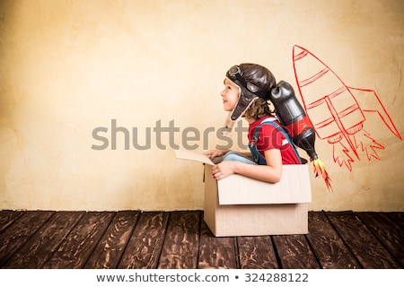 Children imagination Stock photo © Lightsource