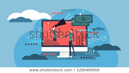marca · marketing · produto · 3D · formato · fundo - foto stock © ivelin