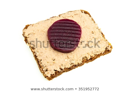 Stock photo: Liver Pate And Beefroot