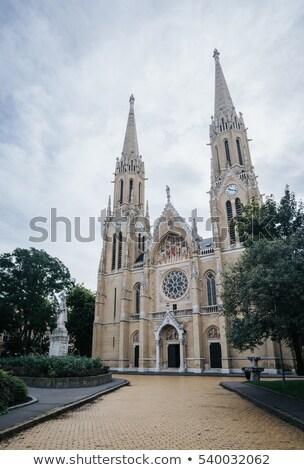 kathedraal · Slowakije · kerk · architectuur · gothic - stockfoto © kayco