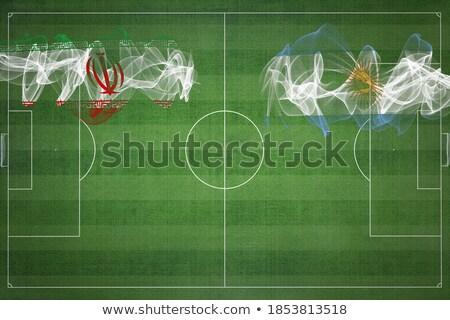 Argentinië vs Iran groep fase wedstrijd Stockfoto © smocker03