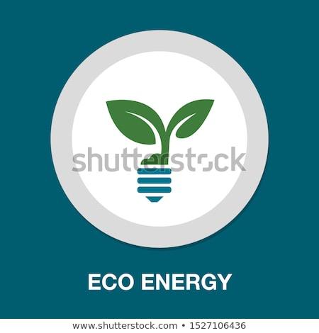 light bulb plant growing green eco energy concept , Eco friendly Stock photo © kiddaikiddee