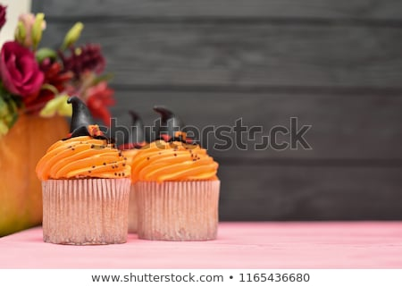 Happy Halloween cupcake stock photo © RuthBlack