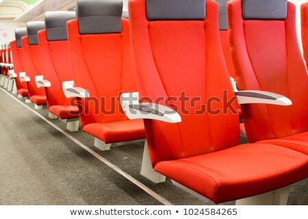 aeroexpress trains on the train station sheremetyevo stock photo © amok