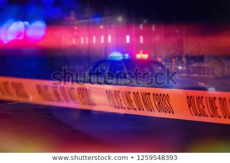 policía · brutal · hombre - foto stock © stevanovicigor