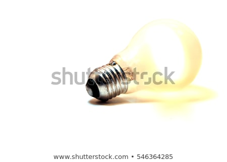 Oude type elektriciteit vervoer hemel glas Stockfoto © compuinfoto