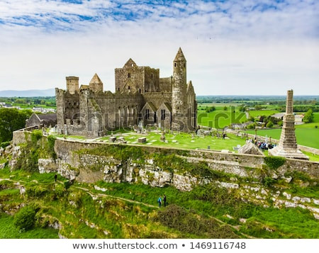 historic rock of cashel landmark stock photo © morrbyte