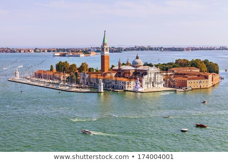 Stock photo: Church of San Giorgio Maggiore with clouds