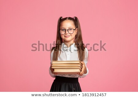 expressive child on empty background Stock photo © Dave_pot