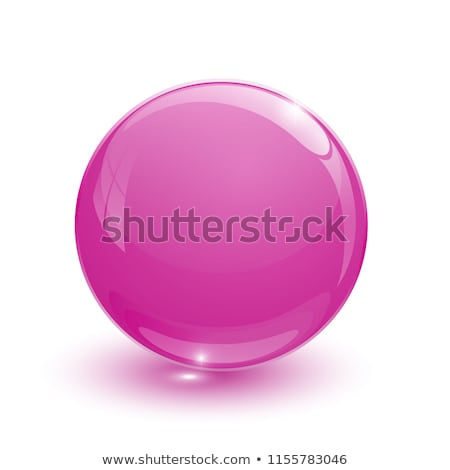 Ruby glassy ball Stock photo © mizar_21984