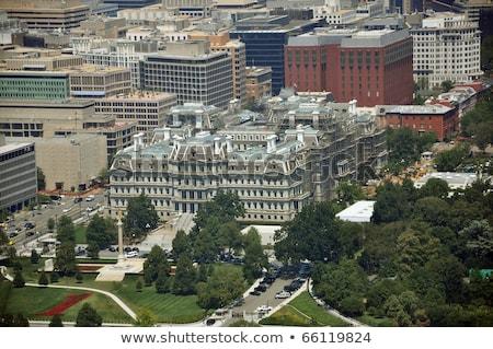 Vieux exécutif immeuble de bureaux pavillon Washington DC bâtiment Photo stock © billperry