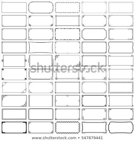 Simple vector decorative frame stock photo © Mr_Vector