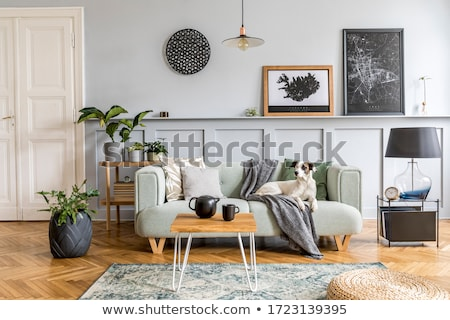Living Room Dining Design Home Interior Stock photo © cr8tivguy
