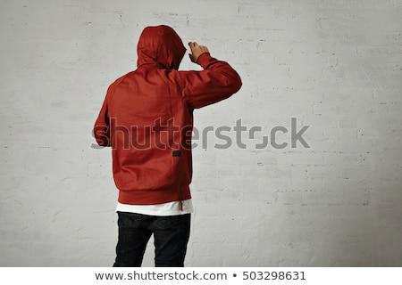 Muscolare uomo giacca giovane palestra sexy Foto d'archivio © wavebreak_media