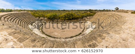 ruins of ancient salamis city famagusta district cyprus stock photo © kirill_m
