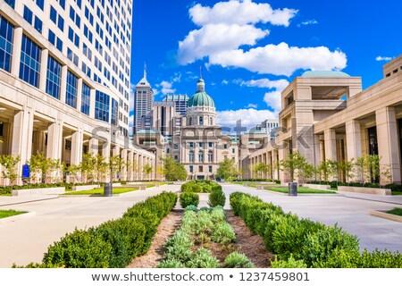 Indiana edifício rua política EUA centro da cidade Foto stock © AndreyKr