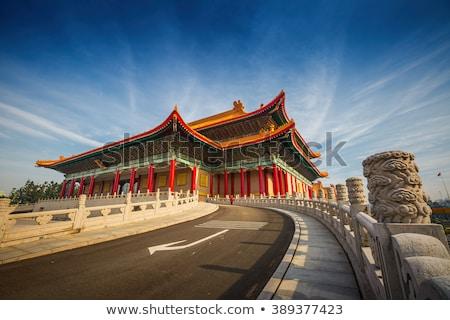 Konser salon Tayvan özgürlük kare manzara Stok fotoğraf © fazon1