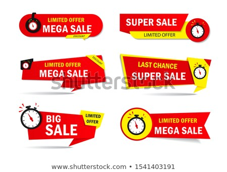 Limited Collection Yellow Vector Icon Button Stock photo © rizwanali3d