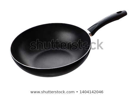 Pan aislado alimentos metal acero blanco Foto stock © shutswis