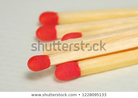 House hold safety matches pile Stock photo © stevanovicigor