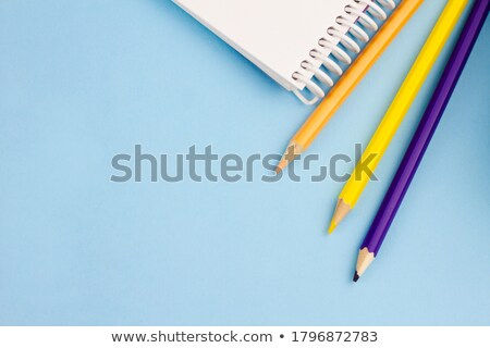 Três diferente cores bloco de notas caderno negócio Foto stock © mayboro1964
