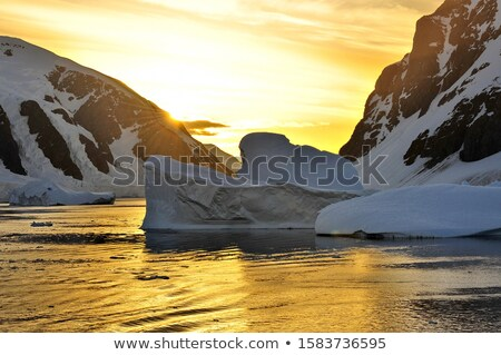 Sunrise in Antarctica. Stock photo © maxmitzu